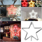 Five-pointed Star Shape LED Wall Light Decorative Home Decor Wall Hanging Lights