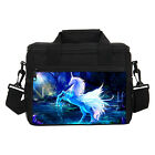 Portable Cute Unicorn Print Girls Insulated Lunch Bag Waterproof Cooler Boxes