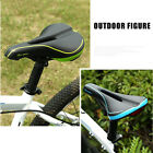 MTB Mountain Road Bike Bicycle Saddle Soft EVO Middle Hollow Cycling Seat