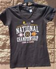 NATIONAL CHAMPIONSHIP FOOTBALL WOMENS SHIRT - 2016 - CLEMSON ALABAMA -  NEW