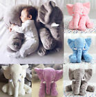 Large Long Nose Elephant Sleep Pillow Baby Toy Plush Lumbar Cushion Doll 40*60cm