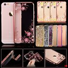 Delux Bling Glitter Shockproof Silicone Case Cover for iPhone Samsung Mobiles