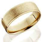 Mens 14K Gold 6mm Comfort Fit Wedding Ring Band New