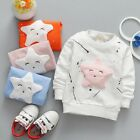 UK Newborn Toddler Baby Boy Girl Clothes Cotton T-shirt Tops Sweatshirt Outfits