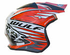 WULFSPORT WULF TRI ACTION TRIALS HELMET RED ADULT CHILDRENS XXS XS S M L XL