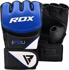 RDX Boxing MMA Gloves UFC Sparring Grappling Training Punching Fighting Mitts US