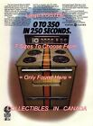 """G.E. STOVE 1971 Orange Stripe CAR Ford GT = POSTER CHOOSE FROM 7 SIZES 19"""" - 36"""""""