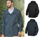 Trespass Mens Waterproof Windproof Breathable Hooded Coat Jacket