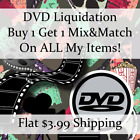 New Movie DVD Liquidation Sale ** Titles: T-T #620 ** Buy 1 Get 1 flat ship fee