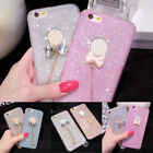 Bling Glitter Soft Crystal TPU Phone Case Cover For iPhone 5 5S 6 6S 7 Plus 025