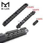 M-lok 5/9/13 Slots rail section Picatinny Weaver rail base Mount for Rifle Hunt