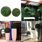 Artificial Green Grass Ball Plant Topiary Hanging Home Garden Wedding Decoration