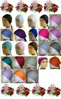 Quality NEW LADIES BONNET BONE HIJAB UNDERSCARF ISLAMIC HAIR COVER CAP WITH TIES