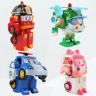 Robocar Transformer Robot POLI ROY HELLI AMBER TV Animation Car Toy Child Gift