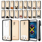 For Huawei Honor 6X/ Mate 9 Lite 5.5 inch Animal Clear Black Bumper Cover + Pen