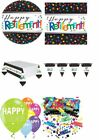Retirement Party Plates Napkins Decorations Balloons Table Confetti Banners