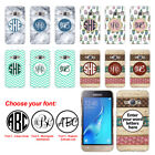 For Samsung Galaxy J1 J120 (2nd) Custom Personalized Monogram Letters Hard Cover