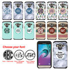 For Samsung Galaxy J3 J310 Custom Personalized Monogram Letter Bumper Case Cover