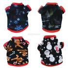 Small Pet Jacket Coat Puppy Cat Doggy Fleece Shirt Dog Hoodie Clothes Sweater US