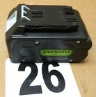 NEW GREENWORKS 24V LITHIUM  ION BATTERY 29852 DIRT CHEAP!!