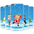 Joyful Christmas Time In Snow Snap-on Hard Case Phone Cover for Apple Phones