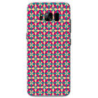 Butterfly & Flowers Repeating Patterns Hard Case Phone Cover for Samsung Phones