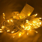 LED String Fairy Lights Indoor Outdoor Party Christmas Warm White 2 - 100 Metre