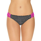 Ambrielle Geo Linear Hipster Swimsuit Bottoms Size M Msrp $42.00 New