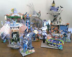 HALLOWEEN CARNIVAL ALTERED ART HANDCRAFTED #2 GAMES various prices OOAK