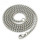 Mens/Ladies Steel Rolo Square Link Belcher 2mm Neckchain in various lengths