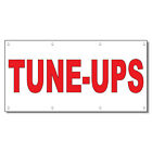 Tune-Ups Red Auto Car Repair Shop 13 Oz Vinyl Banner Sign...