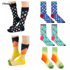 hot stocking tubes - Vintage Hot Air Balloon Men's Middle Tube Socks Individual Cotton Stockings