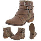 Not Rated Deep Trouble Women's Sweater Knit Ankle Boots