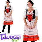 Bavarian Beer Maid Womens Fancy Dress Oktoberfest German Festival Adults Costume