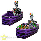 "INFLATABLE SKELETON DRINKS COOLER HALLOWEEN FANCY DRESS PROP DECORATION 43""x31"""