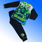 Boys Authentic Official The Hulk Avengers Pyjamas Age 4-10 Years