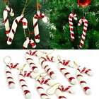6 Pcs Christmas Tree Hanging Crutches Pendant Xmas Deco Ornaments Gift