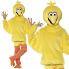 BIG BIRD SESAME STREET FANCY DRESS COSTUME ADULTS YELLOW RETRO 1980S MASCOT