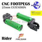 FRW CNC 6C 25mm Front Footpegs For Buell XB12S Lightning 04+ 04 cheap