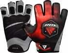 RDX Weight Lifting Gym Training Gloves Fitness Bodybuilding Workout Exercise F12