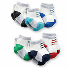 Carters 3 12 24 Months 6-pk.Knit Socks Baby Boy