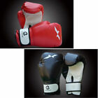 Adult Leather MMA UFC Grappling Gloves Fight Boxing Punch Bag Kick Muay Thai Gym