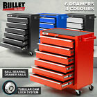 6 BULLET Drawer Tool Box Cabinet Trolley Garage Toolbox Mechanic Storage Cart