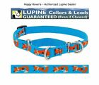 "Lupine Lifetime COMBINATION or Martingale Dog Collar 3/4"" LIMITED - FOXY PAWS"