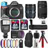 Canon EOS 5DS DSLR + 24-105mm 4L IS II + 70-300mm III + Slave Flash - 48GB Kit