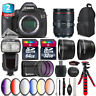 Canon EOS 5DS DSLR Camera + 24-105mm 4L IS II + Pro Flash + 9PC Filter + 96GB