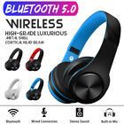 Wireless Bluetooth Headphone Folding Headset Stereo Heavy Bass Earphone Handfree