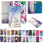 For Echo Moss Wallet Bag Flip Case Cover Wings Tower Insect Leopard Smile Love