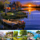 Внешний вид - 5D Diamond Landscape Embroidery Painting Cross Stitch Craft Home Decor Exquisite