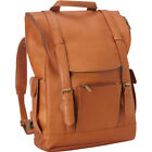 Le Donne Leather Classic Laptop Backpack 3 Colors Business  Laptop Backpack NEW
